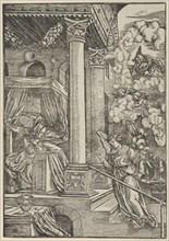 The Annunciation. Creator: Hans Schäufelein the Elder.