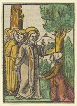 Christ and the Woman Issuing Blood
