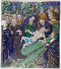 Plaque with the Raising of Lazarus