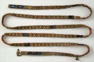 Belt with Profiles of Half-Length Figures