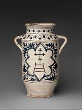 Pharmacy Jar with the Arms of the Hospital of Santa Maria della Scala