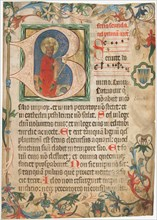 Manuscript Leaf from a Missal, Austrian, late 15th century.