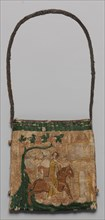 Purse with scenes from the story of Patient Griselda, French, 14th century.