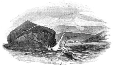 """Aden, """"The Gibraltar of the Red Sea"""", 1844. Creator: Stephen Sly."""