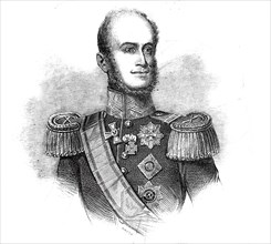 His Majesty the King of Holland, drawn by Baugniet, 1845. Creator: Unknown.