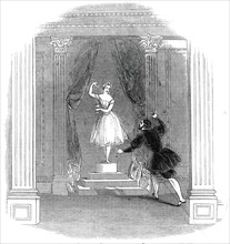 """Scene from the """"New Ballet"""" of """"The Marble Maiden"""", at Drury Lane Theatre, 1845. Creator: Unknown."""