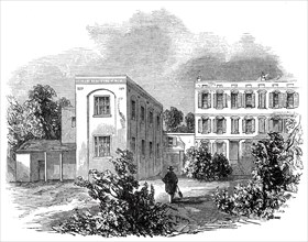 The German Hospital and grounds, 1845. Creator: Unknown.