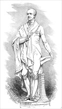 Statue of the late Marquis Wellesley, by Weekes, 1845. Creator: Unknown.