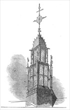 The Great Hall lantern of Lincoln's Inn New Buildings, 1845. Creator: Unknown.