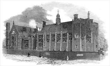 West front, Lincoln's Inn Fields, 1845. Creator: Unknown.
