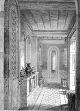 The Vestibule, Lansdown Tower, 1845. Creator: Unknown.