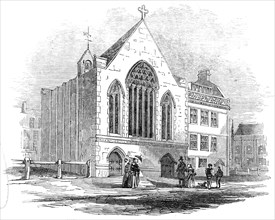 New French Protestant Episcopal Church, Bloomsbury, 1845. Creator: Unknown.