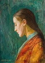 Portrait Of A Reflective Lady