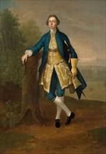 Portrait Of A Man In Blue