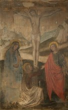The Crucifixion with Virgin