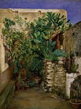 Corner of an Eastern Courtyard