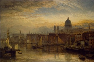 St Paul's from the River Thames
