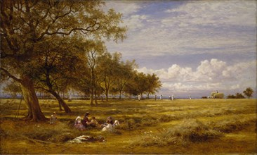 An English Hayfield