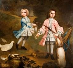 Sir Lister And Sir Charles Holte As Boys