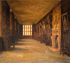 View Of The Long Gallery At Aston Hall