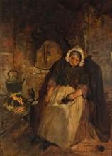 An Old Woman Asleep