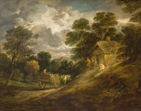 Landscape With A Cottage And Cart