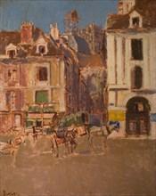 La Rue Notre Dame And The Quai Duquesne