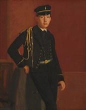 Achille De Gas in the Uniform of a Cadet