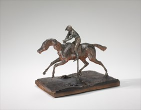 Horse Galloping on the Right Foot