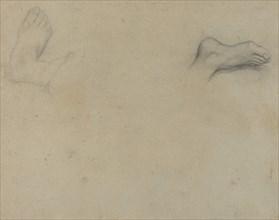 Studies of Feet [verso]