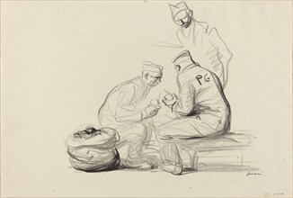 Poilu and German Prisoners