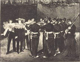 Death of Maximilian at Queretaro