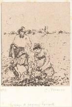 Groupe de paysans