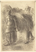 Peasants Carrying Hay