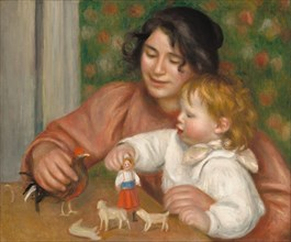 Child with Toys - Gabrielle and the Artist's Son