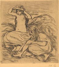 The Two Bathers