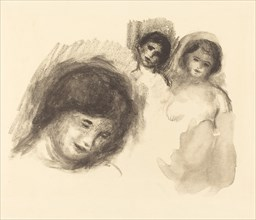 Stone with Three Sketches