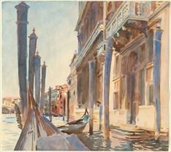 Gondola Moorings on the Grand Canal