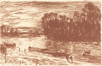 Banks of the Loing near Saint-Mammes