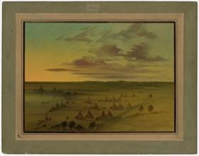 Sioux Village - Lac du Cygne
