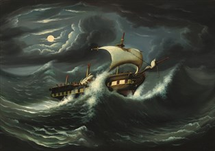 Storm-Tossed Frigate
