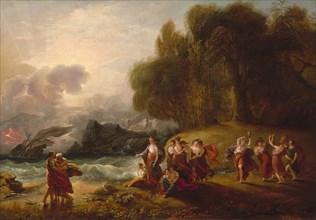 Telemachus and Calypso