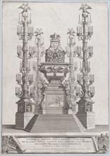 Catafalco Eretto Nella Basilica Vaticana ...per Alessandro VIII