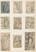 Mars and other mythological figures