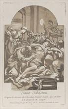 The martyrdom of Saint Sebastian