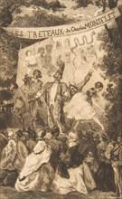 """Frontispiece for """"Les Tréteaux de Monselet"""""""