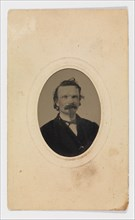 Tintype Photograph of Gustave Young