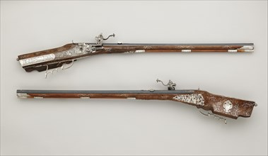 Pair of Wheellock Rifles Made for Emperor Leopold I