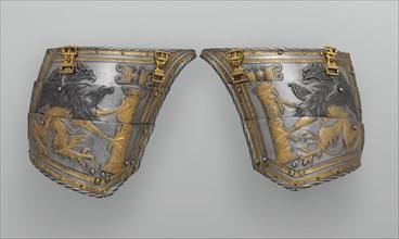 Pair of Tassets of Emperor Charles V of Austria