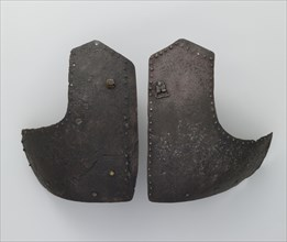 Right and Left Breastplates from a Brigandine